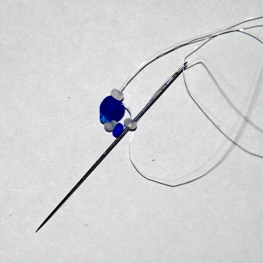 Как сделать ожерелье и серьги жгутик - ракушка.
